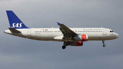 SE-RJE - Airbus A320-232 - Scandinavian Airlines (SAS)