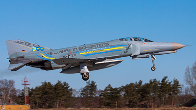 38-28 - McDonnell Douglas F-4F Phantom II - Germany - Air Force