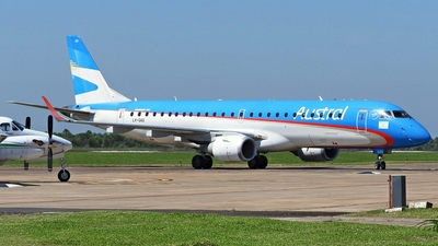A picture of LVGAQ - Embraer E190AR - Aerolineas Argentinas - © Cristian Ariel Martínez