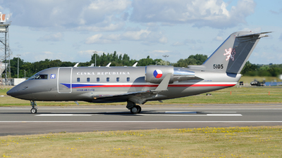 5105 - Bombardier CL-600-2B16 Challenger 601-3A - Czech Republic - Air Force