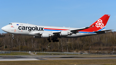 LX-LCL - Boeing 747-4HAERF - Cargolux Airlines International