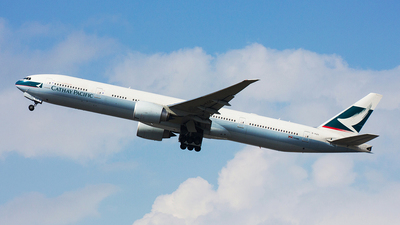 B-KQS - Boeing 777-367ER - Cathay Pacific Airways