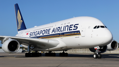 9V-SKU - Airbus A380-841 - Singapore Airlines