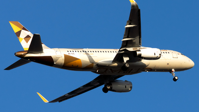 A picture of A6EIS - Airbus A320232 - Etihad Airways - © Salman Tareen.