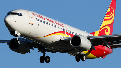 B-1549 - Boeing 737-84P - Hainan Airlines