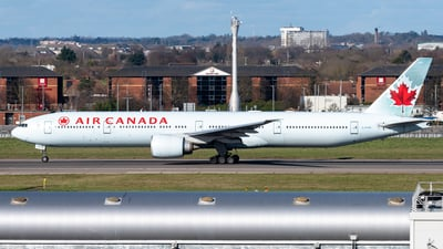 A picture of CFIVR - Boeing 777333(ER) - Air Canada - © Flying no nozomi