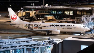 JA337J - Boeing 737-846 - Japan Airlines (JAL)
