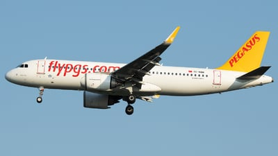 A picture of TCNBM - Airbus A320251N - Pegasus Airlines - © Stefan Bayer