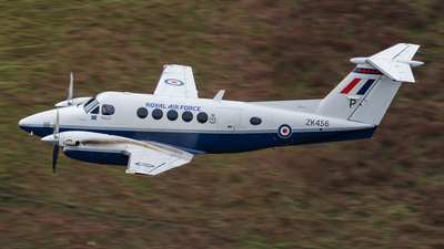 ZK456 - Beechcraft B200 Super King Air - United Kingdom - Royal Air Force (RAF)