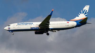TC-SED - Boeing 737-8CX - SunExpress