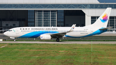 A picture of B1533 - Boeing 73783Z - Donghai Airlines - © cmqmc