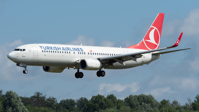A picture of TCJHV - Boeing 7378F2 - Turkish Airlines - © Philippe Ardin