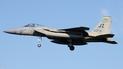 85-0102 - McDonnell Douglas F-15C Eagle - United States - US Air Force (USAF)