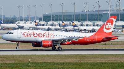D-ABNH - Airbus A320-214 - Air Berlin