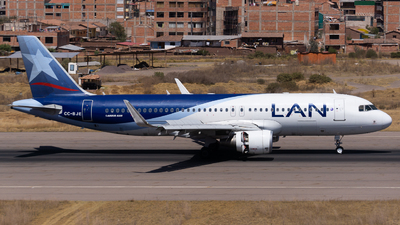 CC-BJE - Airbus A320-214 - LAN Airlines