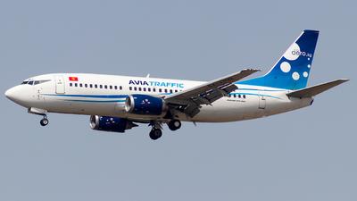 A picture of EX37012 - Boeing 73733A - Avia Traffic - © Baqir Kazmi