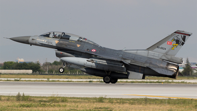 90-0024 - Lockheed Martin F-16D Fighting Falcon - Turkey - Air Force