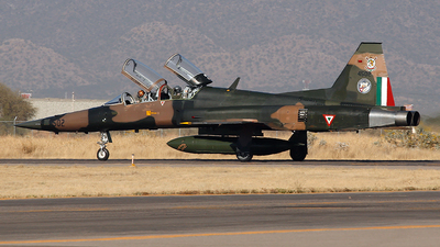 4502 - Northrop F-5F Tiger II - Mexico - Air Force
