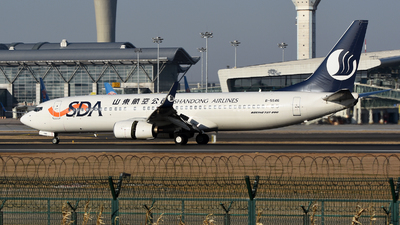 A picture of B5546 - Boeing 73786N - Shandong Airlines - © MTG_001