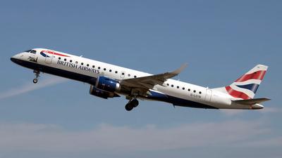 G-LCYN - Embraer 190-100SR - BA CityFlyer