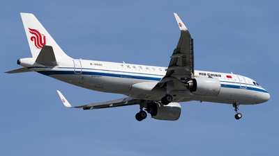 A picture of B8890 - Airbus A320271N - Air China - © Li Youyang