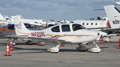 A picture of N420BL - Cirrus SR22 - [1234] - © Juan Camilo Rojas