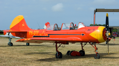 PH-DTY - Yakovlev Yak-52 - Private