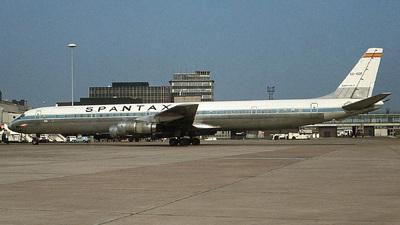 EC-CCF - Douglas DC-8-61(CF) - Spantax