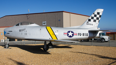 53-1515 - North American F-86H Sabre - United States - US Air Force (USAF)