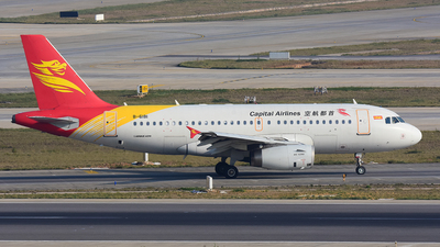 B-6181 - Airbus A319-132 - Capital Airlines