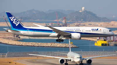 JA887A - Boeing 787-9 Dreamliner - All Nippon Airways (Air Japan)
