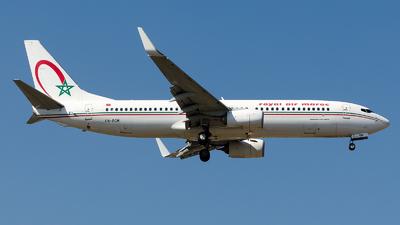 CN-RGM - Boeing 737-8B6 - Royal Air Maroc (RAM)