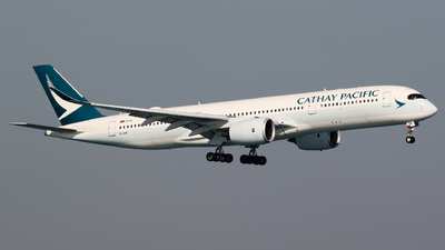 B-LRM - Airbus A350-941 - Cathay Pacific Airways