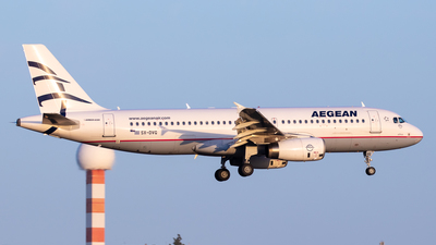 A picture of SXDVG - Airbus A320232 - Aegean Airlines - © Kostas Marmarelis