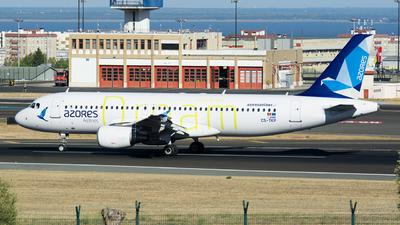 CS-TKP - Airbus A320-214 - Azores Airlines