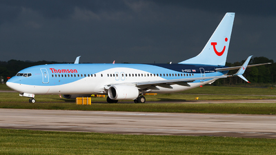 G-FDZZ - Boeing 737-8K5 - Thomson Airways