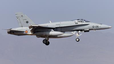 C.15-48 - McDonnell Douglas EF-18A+ Hornet - Spain - Air Force