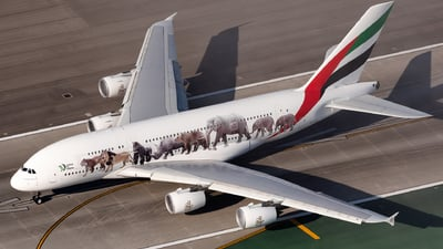 A picture of A6EOM - Airbus A380861 - Emirates - © Ben Suskind