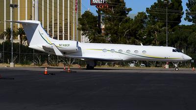 N749CP - Gulfstream G-V - Private