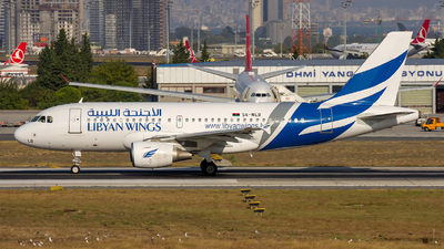 5A-WLB - Airbus A319-112 - Libyan Wings