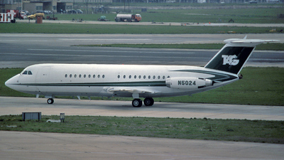 N5024 - British Aircraft Corporation BAC 1-11 Series 401AK - TAG Aviation