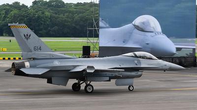 614 - Lockheed Martin F-16C Fighting Falcon - Singapore - Air Force