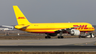 A picture of DALES - Boeing 7572Q8(PCF) - DHL - © Arnie