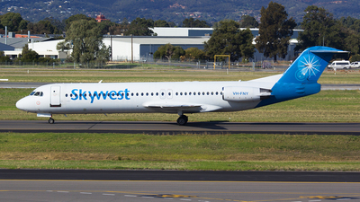 VH-FNY - Fokker 100 - SkyWest Airlines