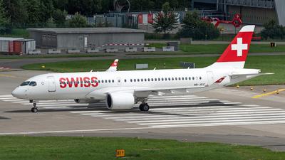 A picture of HBJCC - Airbus A220300 - Swiss - © Sebastian Thiel