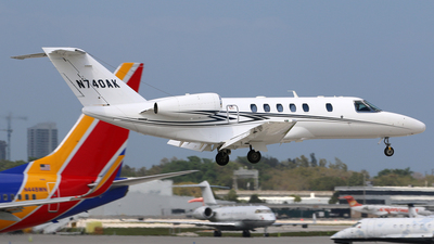 N740AK - Cessna 525C CitationJet 4 - Private