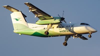 A picture of LNWID - De Havilland Canada Dash 8100 - Wideroe - © OSL Planespotting