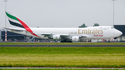 N498MC - Boeing 747-47UF(SCD) - Emirates SkyCargo (Atlas Air)