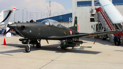2525 - Pilatus PC-7 - Mexico - Air Force
