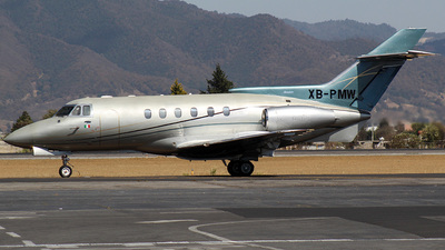 XB-PMW - Hawker Beechcraft 800XP - Private